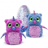 Hatchimals Owlicorn Pink/Blue Egg - One of Two Magical Creatures Inside -