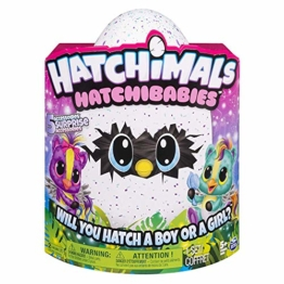 Hatchimals 6044070 - HatchiBabies Ponette, Baby-Hatchimal mit interaktiven Accessoires - 1