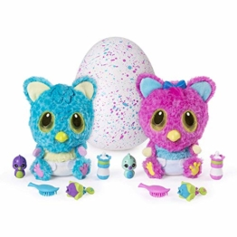 Hatchimals 6044072 - HatchiBabies Cheetree, Baby-Hatchimal mit interaktiven Accessoires - 1